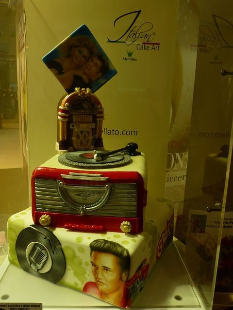 Sigep 2013 Internationale Eismesse  Kuchendesign elvis cake